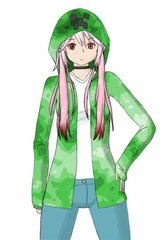 Typical street clothes for Kanade